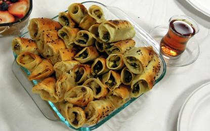 Tortilla Borek Rolls