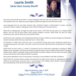 Community Appreciation Dinner with Sheriff Laurie Smith