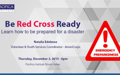 """Be Red Cross Ready"" Emergency Preparedness Training"