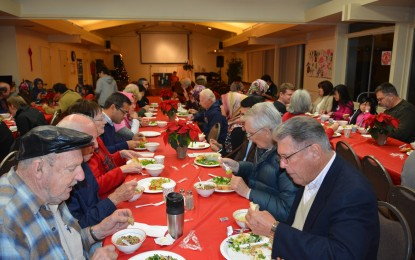 Advent Supper at St. Luke Lutheran Church in Sunnyvale