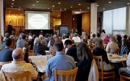 Diverse Faiths Shared Iftar Table At Ramadan Interfaith Dinner In Berkeley