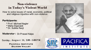 Featured Flyer-NonviolenceInTodaysWorld