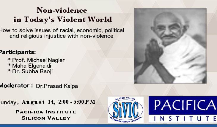 Non-violence in Today's Violent World