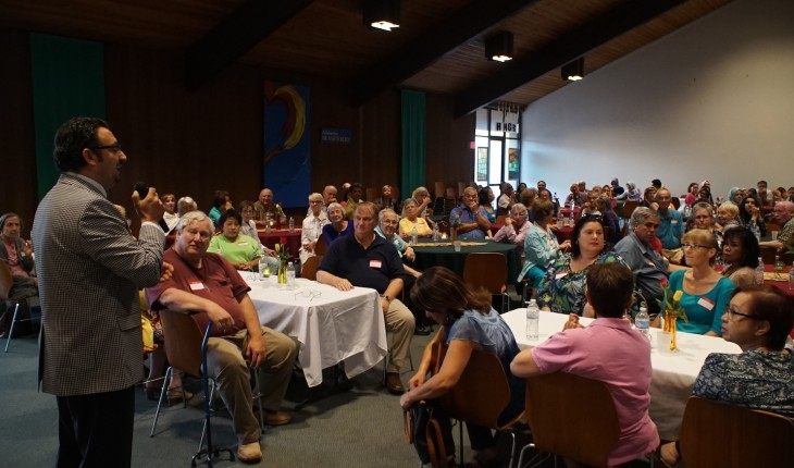 Santa Teresa Catholic Church hosted its first ever Ramadan-Iftar dinner with Pacifica Institute