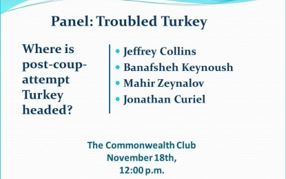 Panel: Troubled Turkey