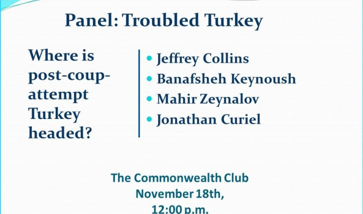 Panel: Troubled Turkey