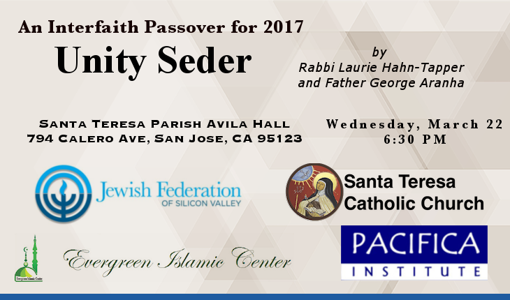 An Interfaith Passover for 2017 – Unity Seder
