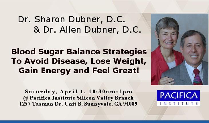 Free Lecture: Blood Sugar Balance Strategies