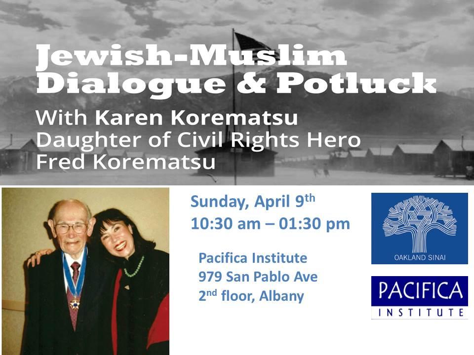 Jewish-Muslim Potluck Brunch With Karen Korematsu