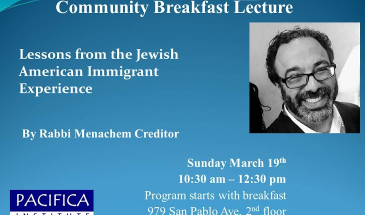 Lessons from the Jewish American Immigrant Experience