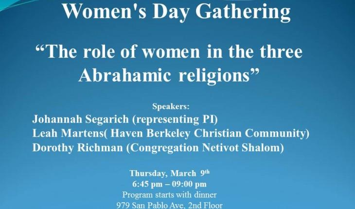 Women's Day Gathering