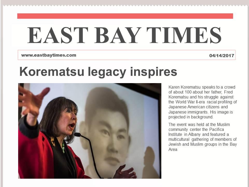 Korematsu legacy inspires anti-profiling strategies