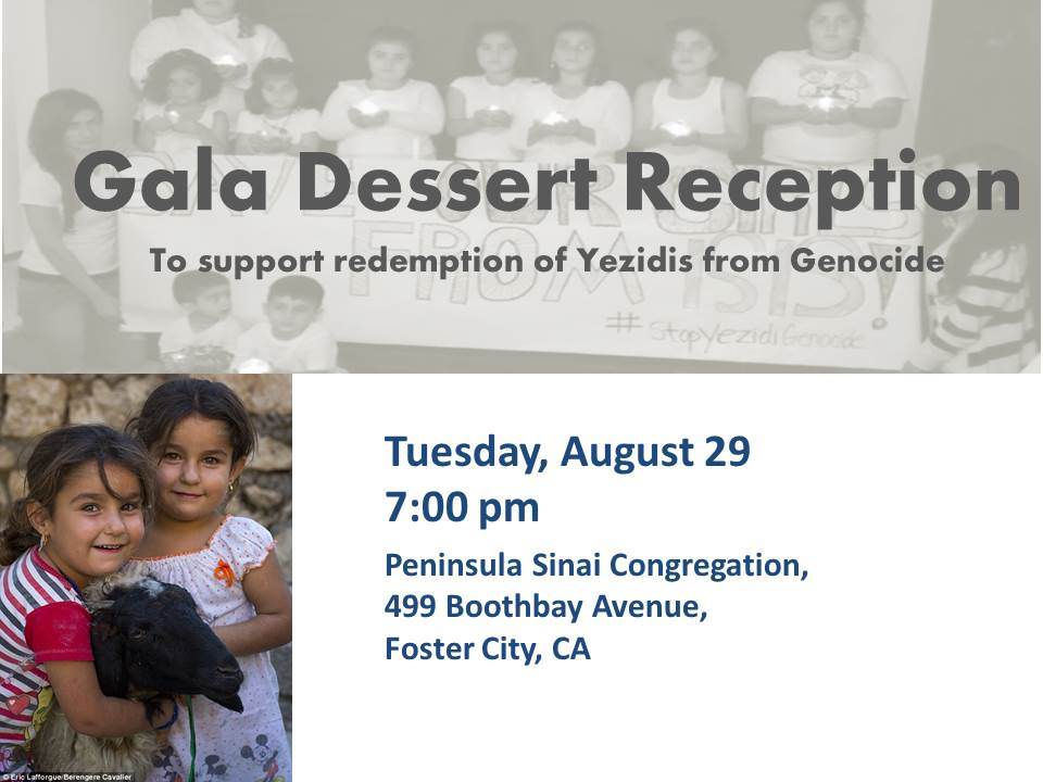 Interfaith Reception To Help Yezidis Facing Genocide