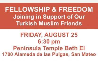 Fellowship & Freedom at Peninsula Temple Beth El