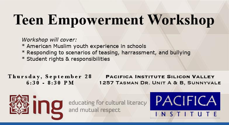 Teen Empowerment Workshop