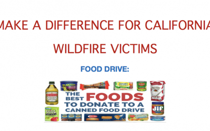 Donations for California Wildfire Victims