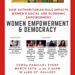 Women Empowerment & Democracy