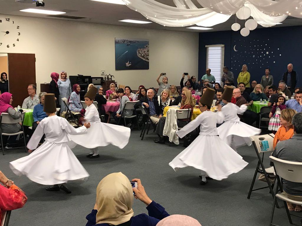 Ramadan Iftar Dinner with Los Altos United Methodist Church on May 17, 2018