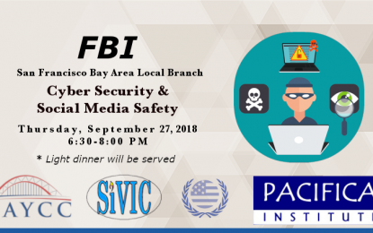 """Cyber Security and Social Media Safety"" – Local FBI Office"