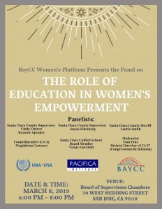 Flyer-The Role of Education in Womens Empowerment