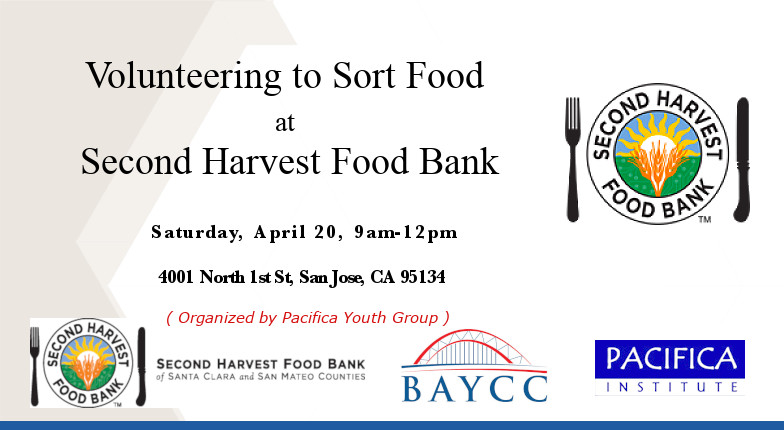 Volunteer to Sort Food at Second Harvest Food Bank – San Jose, CA