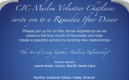 CIC Ministries Ramadan Iftar Dinner – May 14