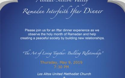 Ramadan Interfaith Iftar Dinner at Los Altos UMC