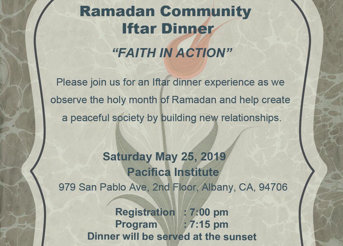 Ramadan Community Iftar Dinner