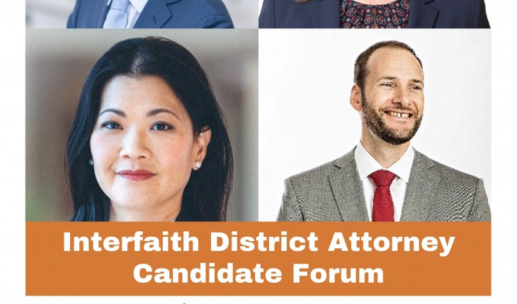 Interfaith District Attorney Candidate Forum