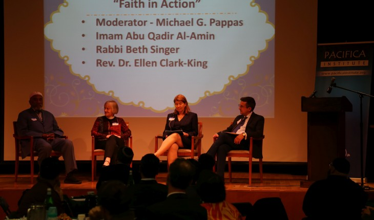 Diverse faiths gathered for iftar dinner at San Francisco Grace Cathedral