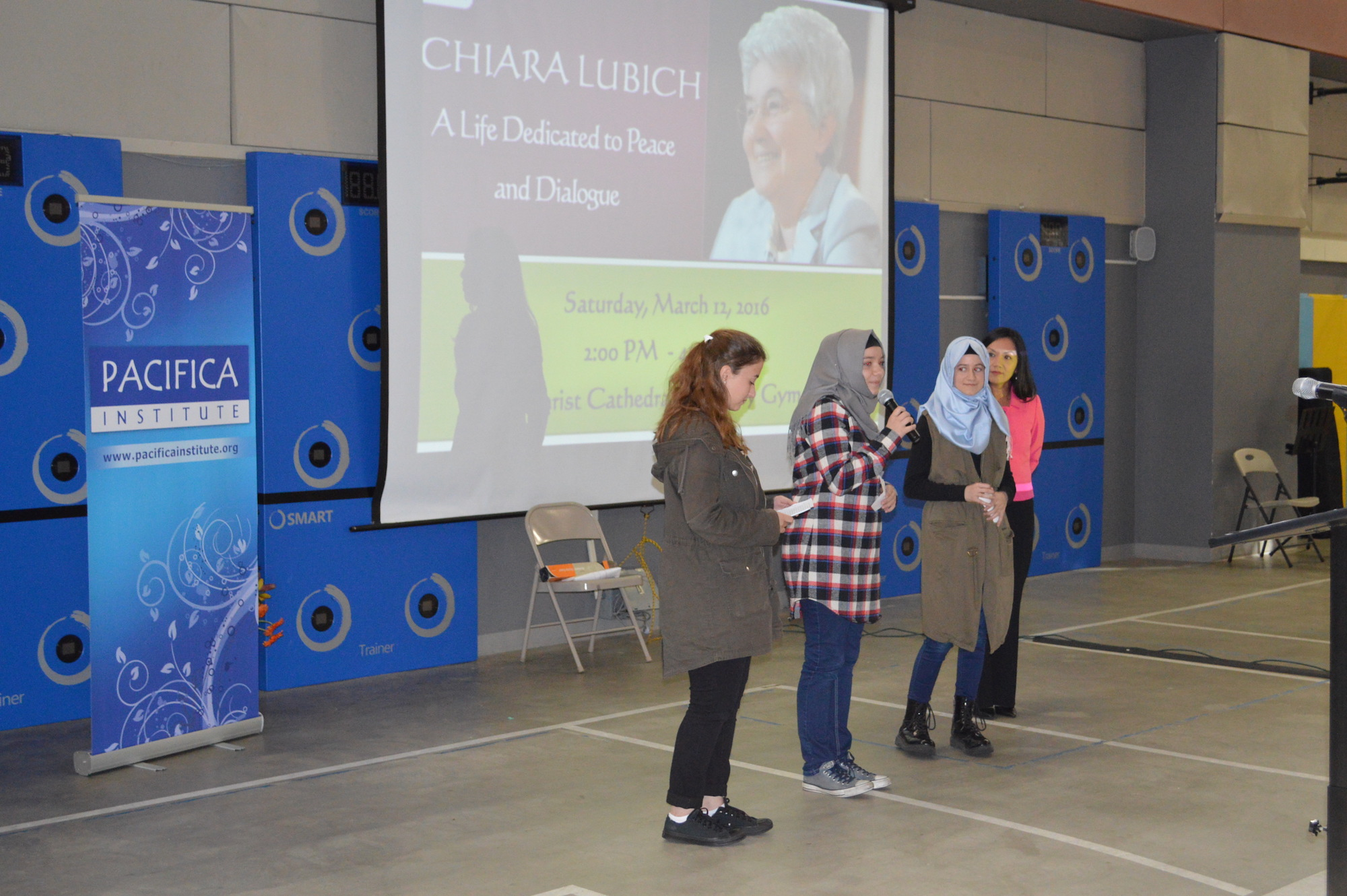 Pacifica Youth Joined the Focolare Community Event and Made a Presentation About the Institute