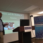 Dr. Amir Hussain talked about Islam and the Building of America