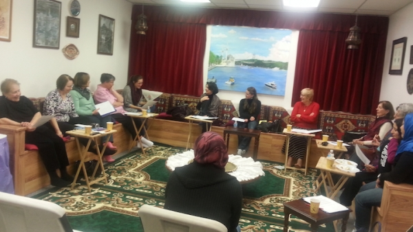 """Pacifica Utah newly formed group """"Talk in Action"""" came together for an article Club"""