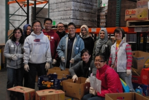 Pacifica Institute's Helping Hands Against Hunger (December 15, 2012)