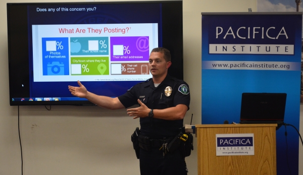 'Cyber Security for Our Kids and Families' by Police Officer Mathew Aragon