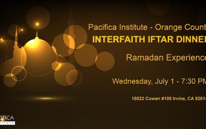 2nd Annual OC Interfaith Iftar Dinner