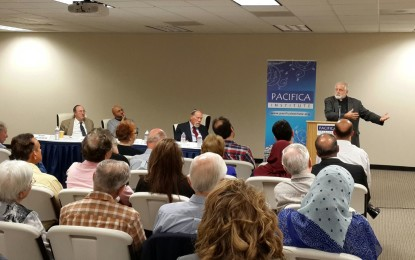 """Pacifica OC hosted a panel on """"The Role of the Prophet Abraham in Interfaith Dialogue"""""""