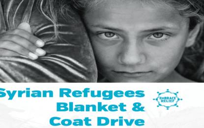 Blanket & Coat Drive for Syrian Refugees