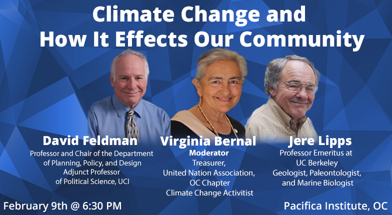 Panel: Climate Change and How It Effects Our Community