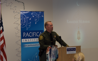 Ramadan Dinner with Local Law Enforcement Officers
