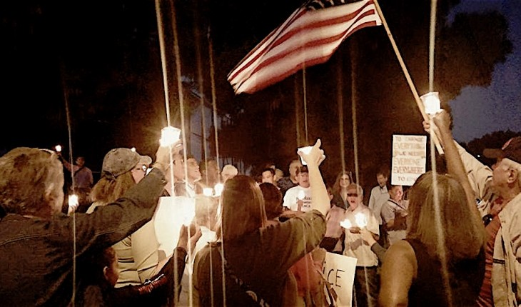 Orange County Community Standing Against Hate and Extremism