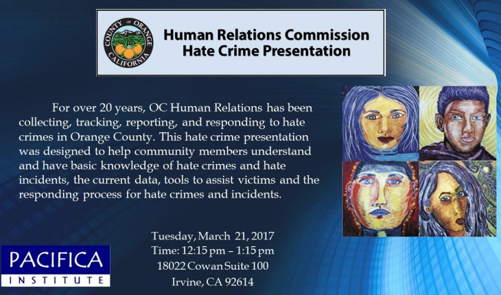 Hate Crime Presentation by OC Human Relations