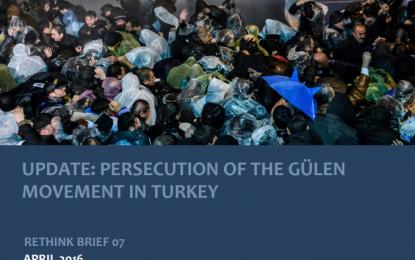 Rethink Institute Update: Persecution of the Gülen Movement in Turkey