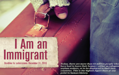 The Fountain Essay Contest 2016: I Am an Immigrant