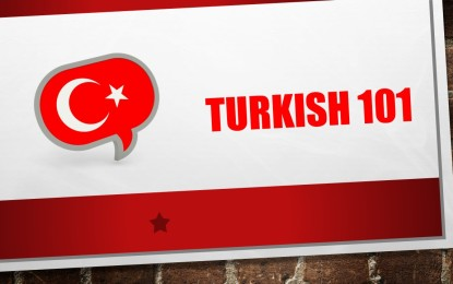Turkish Language Classes Started