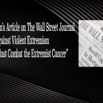 Fethullah Gulen's Article on The Wall Street Journal against Violent Extremism