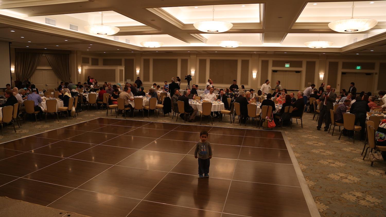 Ramadan Iftar Dinner with Greek Community.