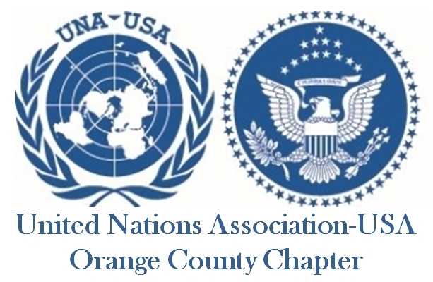 UNA-OC chapter logo