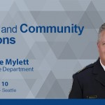 """Seattle Luncheon: """"Police and Community Relations"""" by Bellevue Police Chief Steve Mylett"""