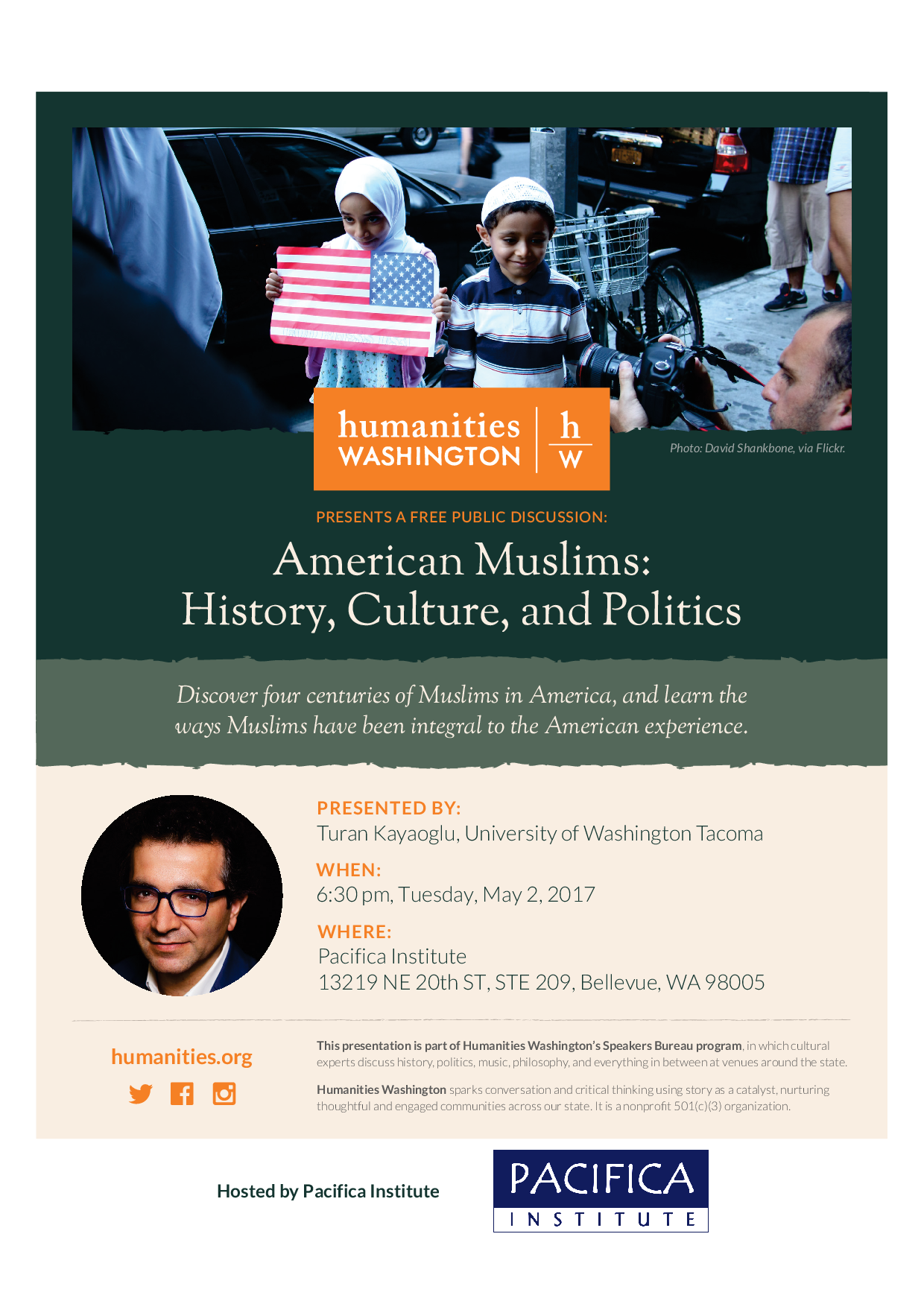 Lecture: American Muslims: History, Culture and Politics